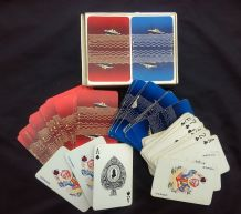 New Zealand shipping line Advertising collectable playing cards